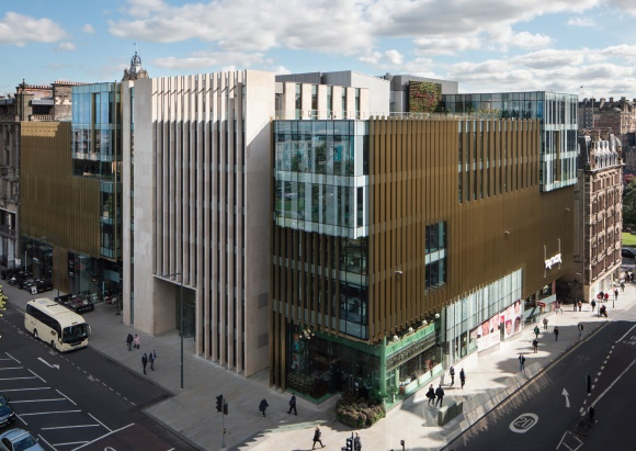 aberdeen standards new hq in edinburgh where there is an expectation that the real estate business will be globalised