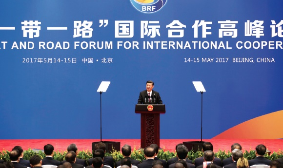 president xi jinping outlines his one belt one road vision