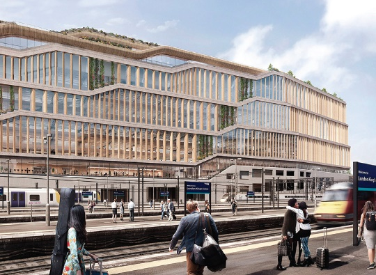 google s proposed new uk headquarters at kings cross london