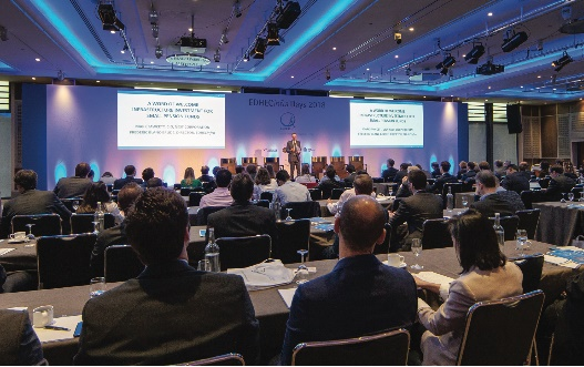 EDHECinfra Days 2018 conference held in London