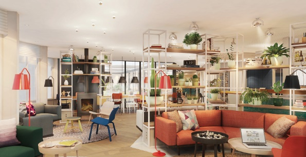 zokus social spaces are an extension of its apartments