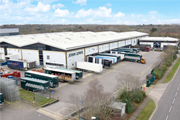 John Lewis distribution unit in Northampton