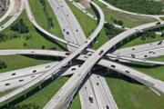 Highway interchange infrastructure