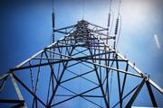 power electricity line pylon infrastructure