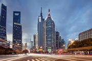 Pufa Tower in Shanghai