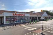 Sainsbury's supermarket in Preston