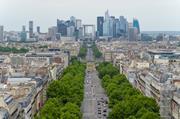 view of La Defense, Paris