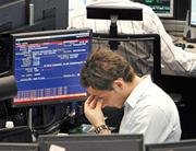 frankfurt stock exchange during the financial crisis in 2008