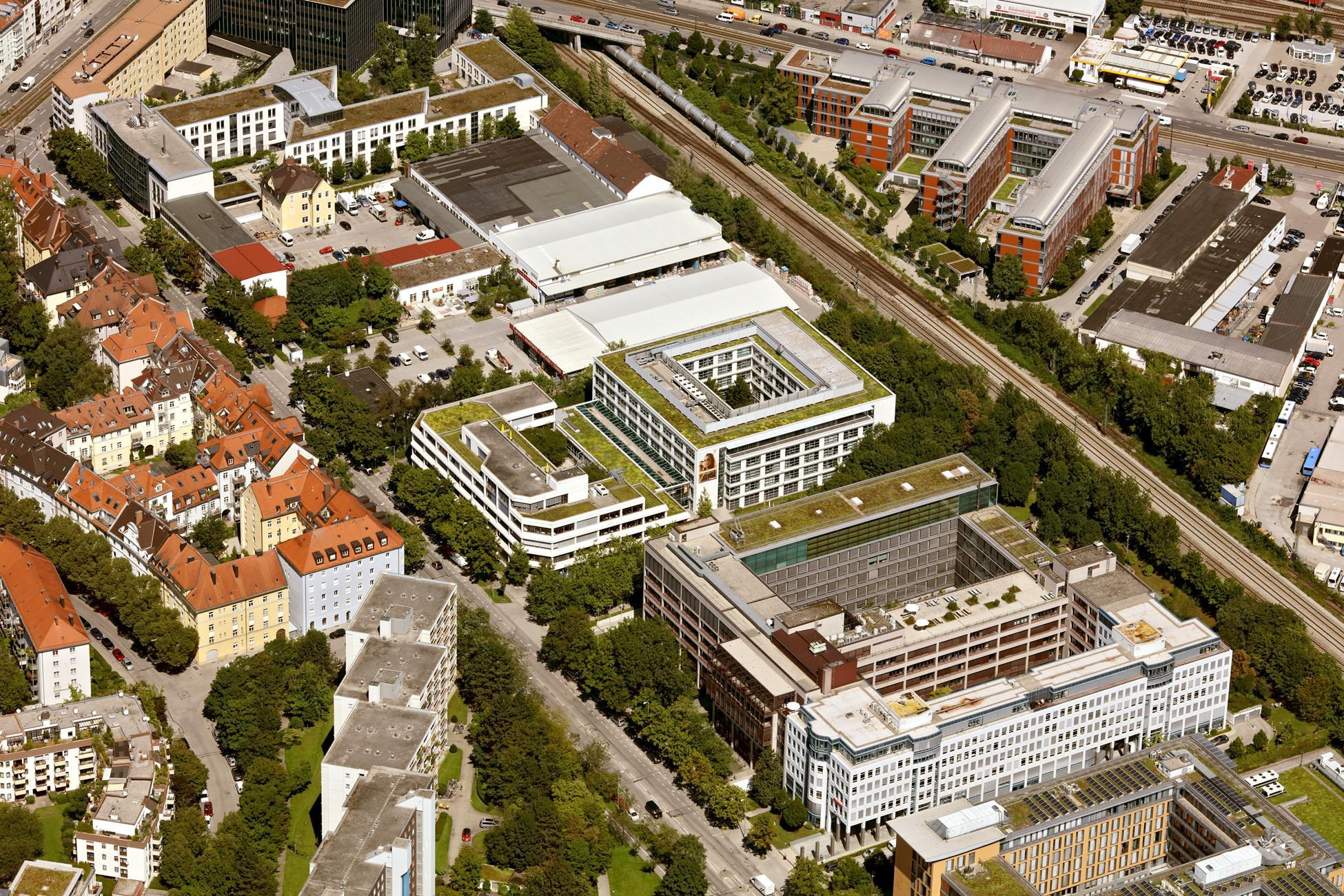 Else office buildings in Munich