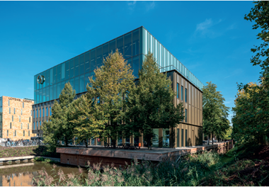 the headquarters of amsterdam smart building developer edge technologies