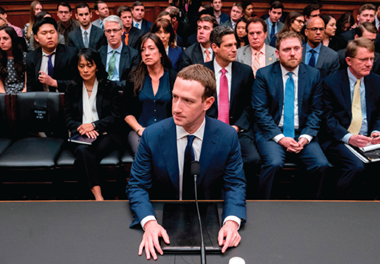facebook ceo mark zuckerberg appearing before the us congress