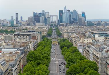 view of La Defense, Paris