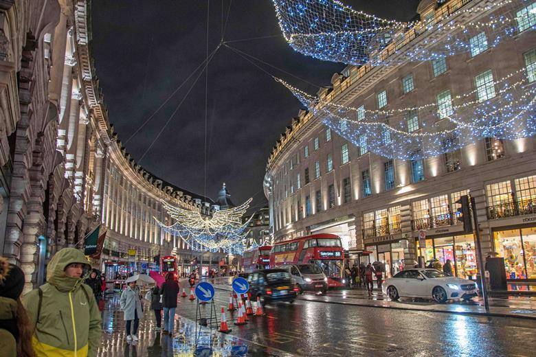 Regent Street, London, December 2018