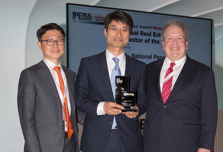 NPS, winners at IPE RE Global Awards 2017
