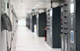 data is stored in a large, air conditioned room known as a data centre